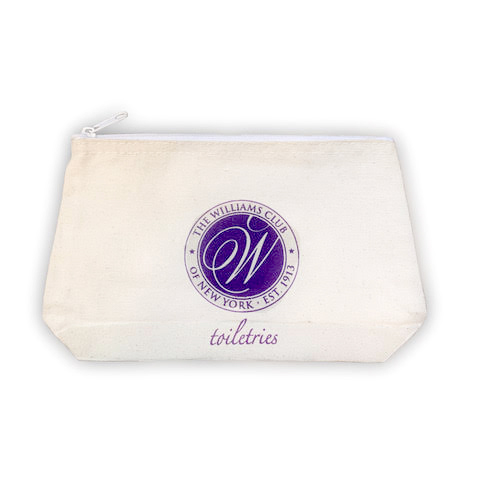 Williams Club zippered pouch
