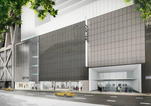Exterior view of The Museum of Modern Art on 53rd Street � 2017 Diller Scofidio + Renfro